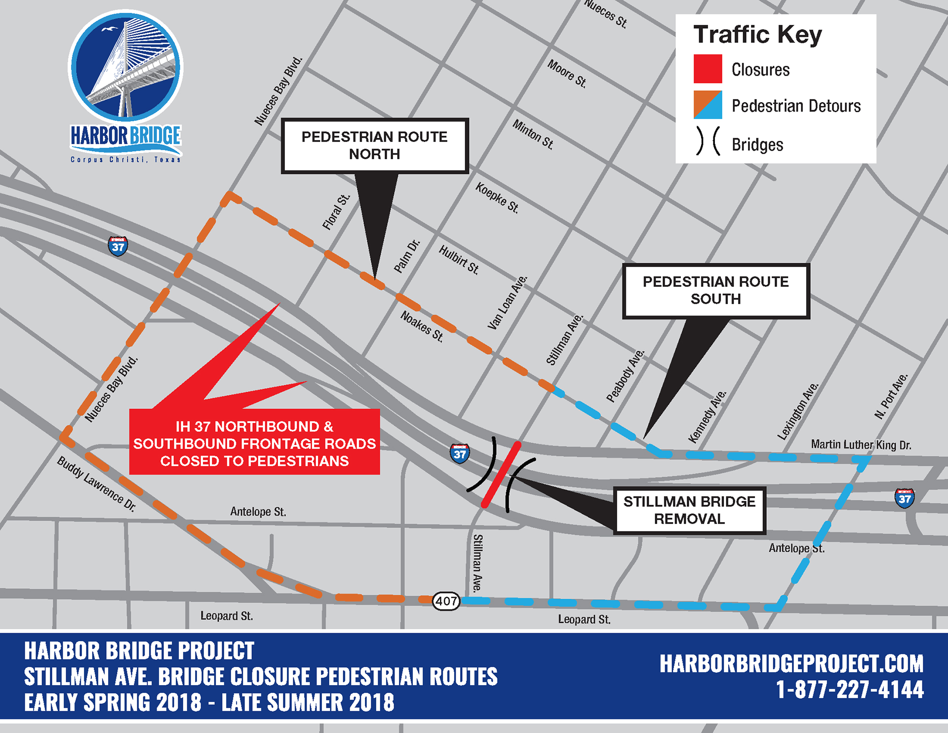 Traffic Maps - Harbor Bridge Project